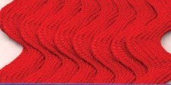 Wrights Bulk Buy Medium Rick Rack 1/2 inch 2 1/2 Yards Red 117-401-065 (3-Pack) by Wright Products