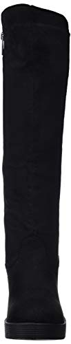 Hautes Mtng Femme Noir Bottes antil 57460 Lycra Negro C43413 66EqRB