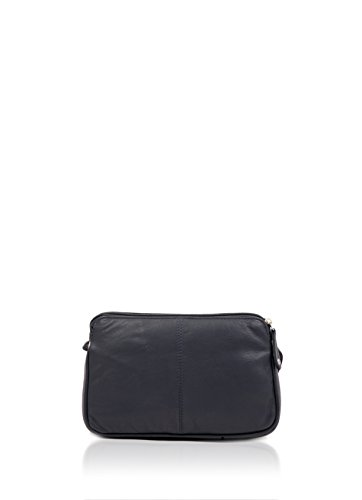 Leather II Navy Rubi Small Cross Soft Curved Bag Women's Body ZOqw1Wa