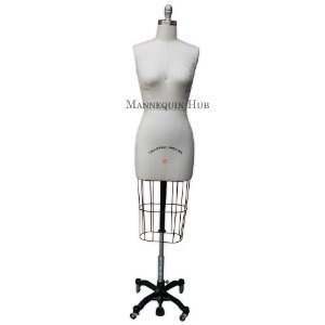 Amazon.com: (ST-SIZE6) Professional Dress Form Female Half Body ...