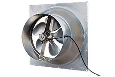 Natural Light 30 Watt Gable Solar Attic Fan - 2