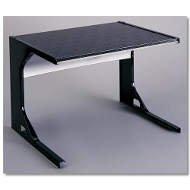 Premier 24 Inch Black Microwave Shelf (24 Premier Inch Range)