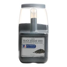 McCormick Black Sesame Seeds - 5.5 lb. container, 3 per case by McCormick