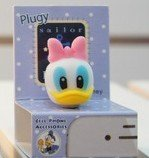 Dust Plug- Earphone Jack Accessories Disney Character 3D Daisy Duck / Cell Charms / Ear Jack for Iphone 4 4s / Ipad / Ipod Touch / Other 3.5mm Ear Jack--------FREE SHIPPING From NY-----