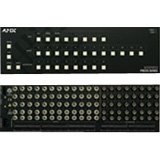 AMX FGP37-0804-567 Fixed Matrix Switchers RGBHV Video with BNC, Stereo Audio with 5T Phoenix-Style and Digital Volume Control