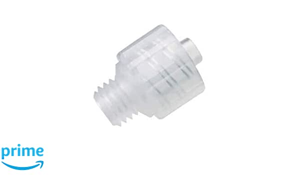 25x Male luer Lock x 1//4 PP Hose Barb Adapter