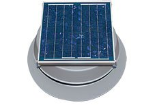 Natural Light Solar Powered Attic Fan - 4
