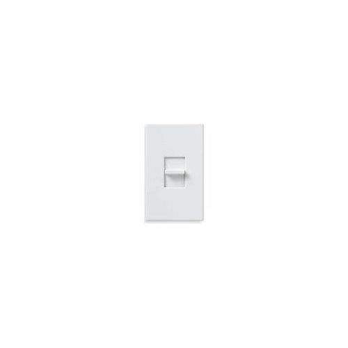 Lutron NTFTV-WH Nova T Fluorescent 0-10V Dimmer Single-Pole Slide-to-Off Dimmer, White