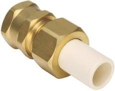 PROPLUS 157287 Lead Free CPVC/Brass Transition Adapter with 3/4