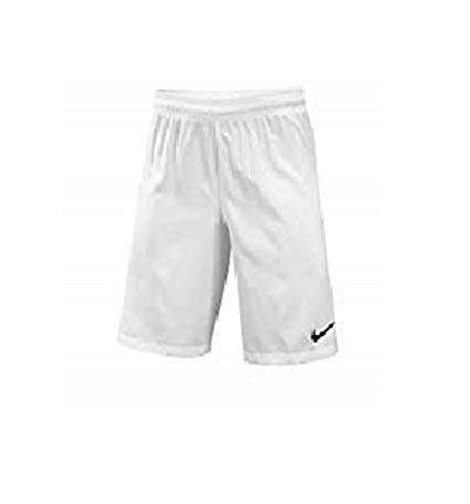 Nike Youth Soccer Woven Shorts (Small) White by Nike