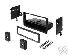 Stereo Install Dash Kit Infiniti QX4 01 02 03 (car radio wiring installation
