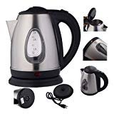 New 1500W 1.8 Liter Electric Kettle Tea Hot Water Boiler Heater Stainless Steel-automatic shut-off