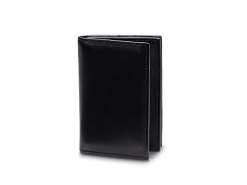 Bosca Men's 2 Pocket Card Case in Nappa Vitello Leather - RFID