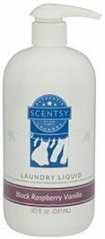 Scentsy Black Raspberry Vanilla Laundry Liquid