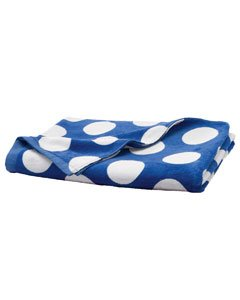 Carmel Towel Company Carmel Beach Towel OS Royal Polka ()