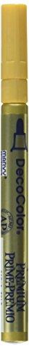 UCHIDA DecoColor Premium Fine Tip Paint Marker, Gold