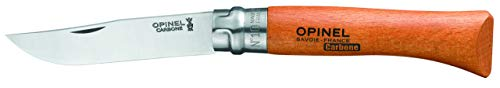 Opinel N10 - Carbon Steel Blade Picnic - Folding Opinel Knife