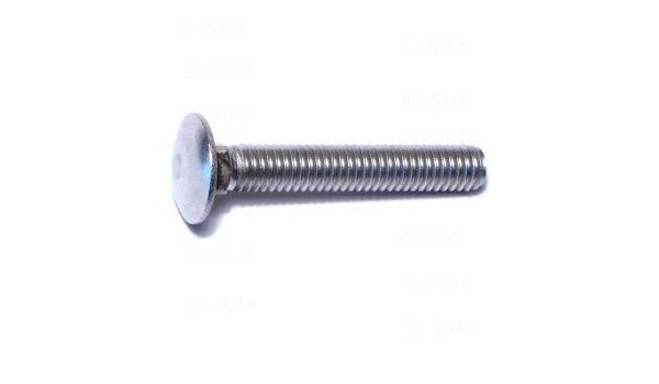 1//4-20 x 3//4 Coarse Thread Carriage Bolt Stainless Steel 18-8 Pk 50