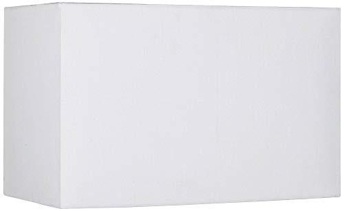 White Rectangular Hardback Shade 8/16x8/16x10 (Spider) - Brentwood