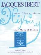 Jacques Ibert - Histoires Recueil Pour Flute Et Piano (Flute Ibert)