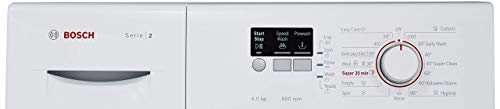 Bosch 6 kg Fully-Automatic Front Loading Washing Machine (WAB16060IN, White, Inbuilt Heater) Discounts Junction