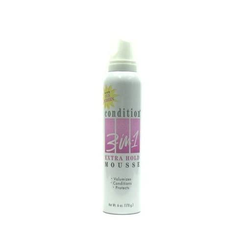 New Condition 3-N-1 Mousse 6 oz. Extra-Hold (Case of 6) hot sale