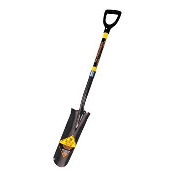 Seymour S604D 29-Inch D-grip Handle Structron Drain Spade by Seymour
