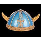 Rhode Island Novelty Viking Helmet with Horns | Perfect Medieval Costume -