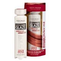 John Frieda Radiant Red Luminous Color Glaze, 6.5 oz Deeper, Richer Red by John Frieda