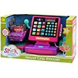 Cute,Interactive and Exciting Spark Deluxe Cash Register,Great Gift Idea for Birthdays and Holidays, or Other Occasions