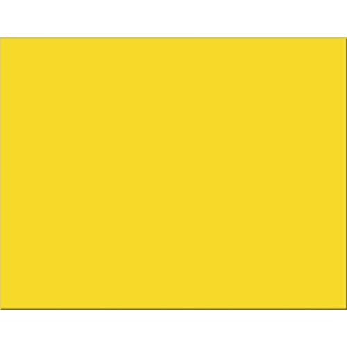 Pacon PAC54731 6-Ply Railroad Board, Lemon Yellow, 22