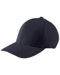 Flexfit® Wooly Combed-Twill Cap - Dark Navy - L/XL