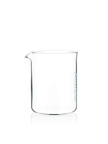 (Bodum Replacement Glass Two Cup, 17-Ounce Spare)