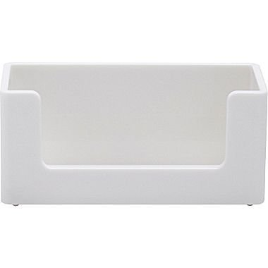 Poppin Business Card Holder (white)