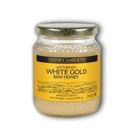 Raw Honey White Gold (Natural) Honey Gardens 1 lb Liquid