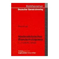 Niedersächsisches Brandschutzgesetz. Textausgabe