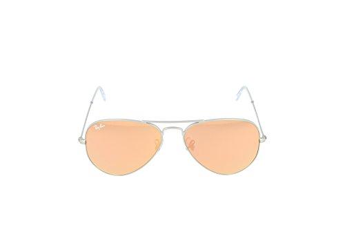 Lunettes Mixte Gris de Pink Brown Ray Mirror Bronze Ban soleil RxwSqqf5A