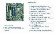Server Gbe Motherboard - Supermicro X7SBL-LN1-B LGA775/ Intel 3200/ FSB 1333/ DDR2-800/ RAID/V&GbE/MATX Server Motherboard