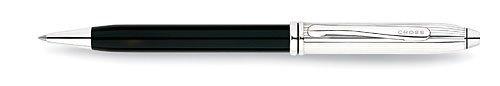 Cross Townsend Tuxedo / Rhodium Plated Ballpoint Pen - 552-2