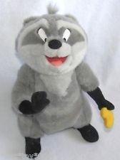 Disney Pocahontas Meeko the Raccoon Plush Toy (Cookie Pocahontas)