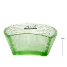 Lalique Luna Moon Bowl Green Ref -