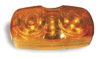 - Grote CLR/MKR LAMP,YEL, HI COUNT LED, SQUARE-CORNER, SCALLOP LENS (G4603)