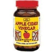 Only Natural Apple Cider Vinegar (500mg.), 90-Count (Apple Cider Vinegar Pills For Yeast Infection)