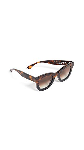 Thierry Lasry Women's Gambly 101 Sunglasses, Tortoise/Black, One ()