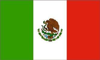 Mexican Flag Banner 3 X 5