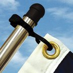 Taylormade 57928 Charlevoix Flag Clips, Fits 1 1/8'' To 1 1/4'' Pole by LandNSea ()