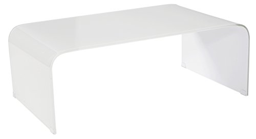 Moe's Home Collection Pura Glass Coffee Table For Sale