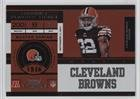 Buster Skrine #16/99 (Football Card) 2011 Playoff Contenders - [Base] - Playoff Ticket #190