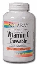 Vitamin C-500 Chewable Orange - 100 - Wafers