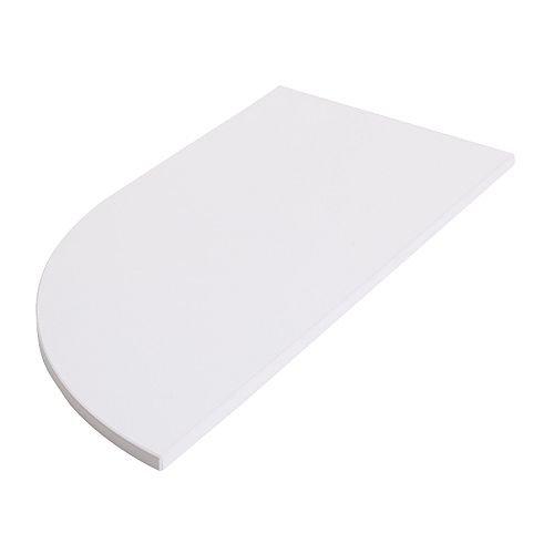 IKEA GALANT - Extensión superior cuarta ronda w marco, blanco ...